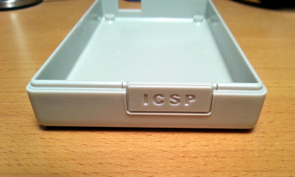 Acceso al ICSP bloqueado.