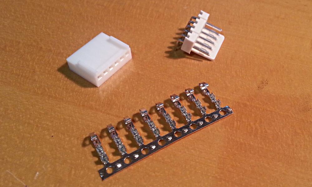 Componentes conector completo.
