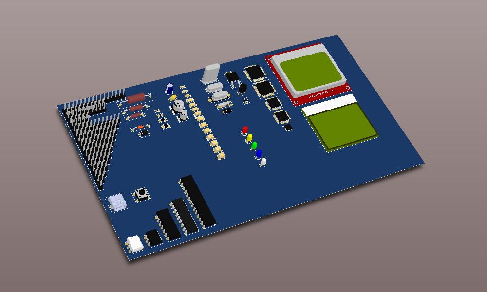 Modelos 3D Librería Altium ElektroQuark a 10/07/2014