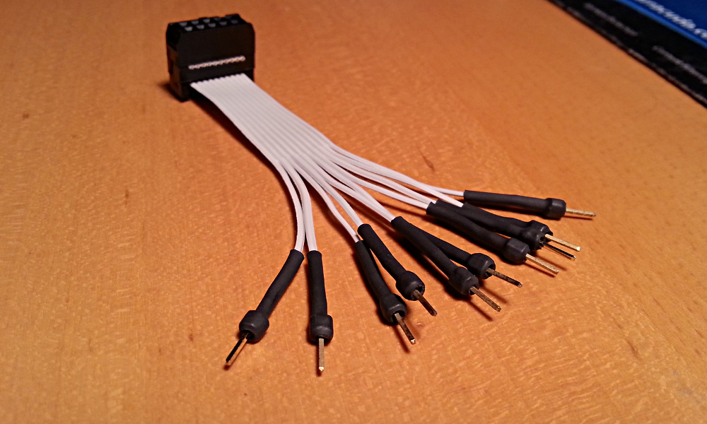 Cable rematado.
