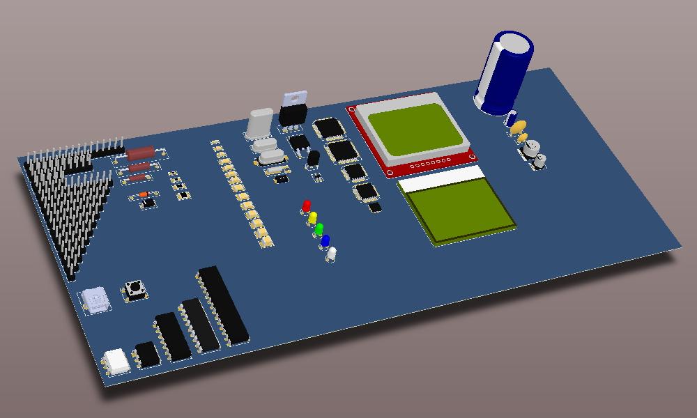 Modelos 3D Librería Altium ElektroQuark a 30/09/2014