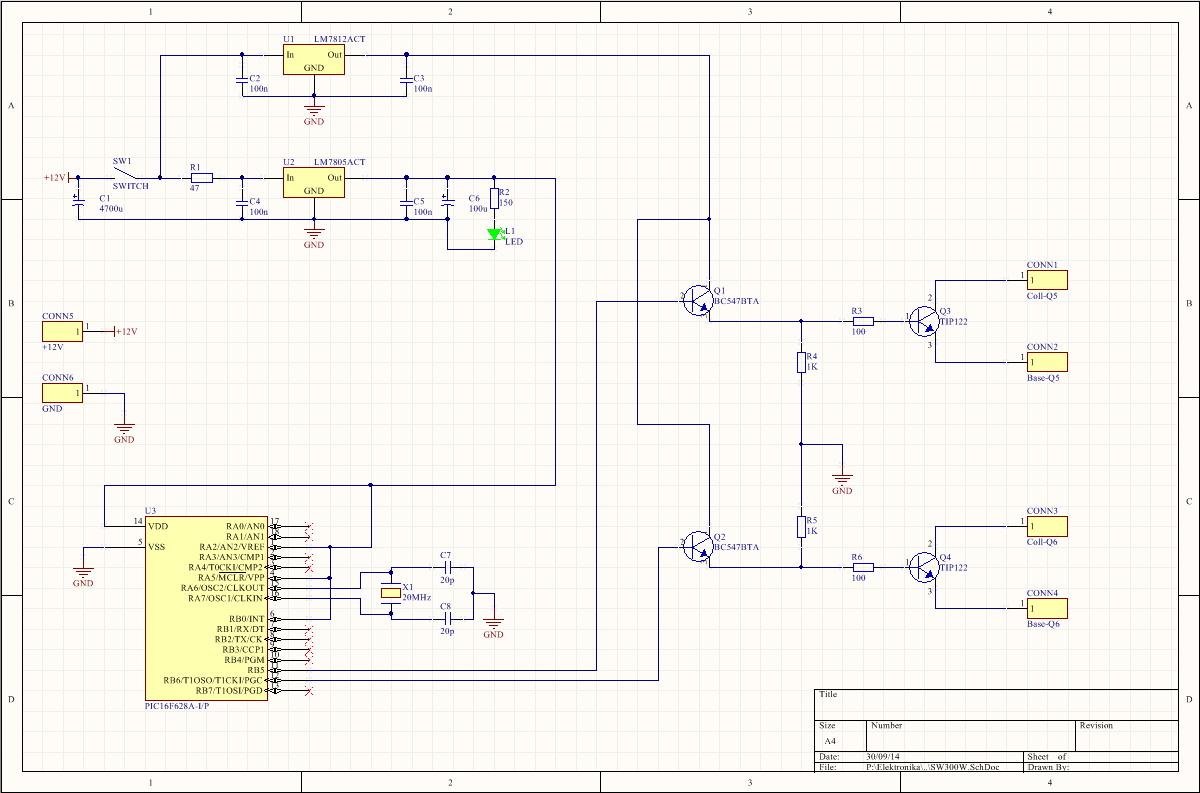 Circuito Onda : Trabajando con diodos rectificadores de onda completa