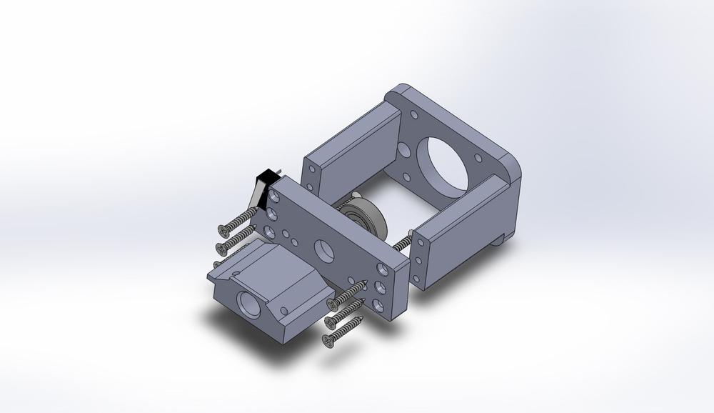 Bubblregum CNC: eje X.
