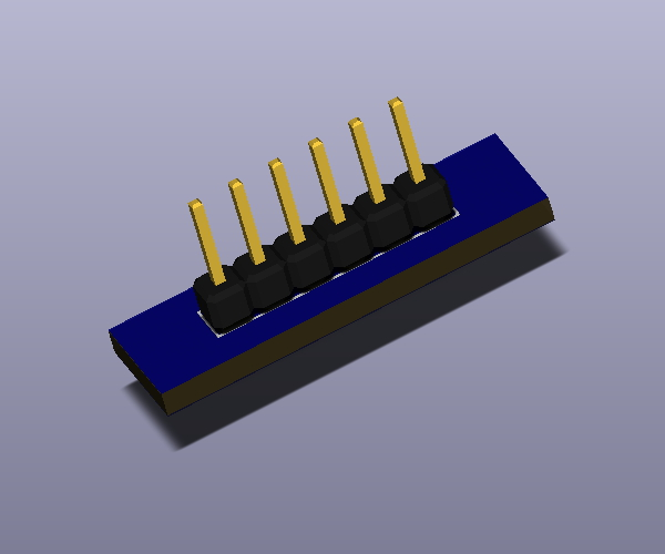 1x6x2.54-Pin-Header-M-TH-V