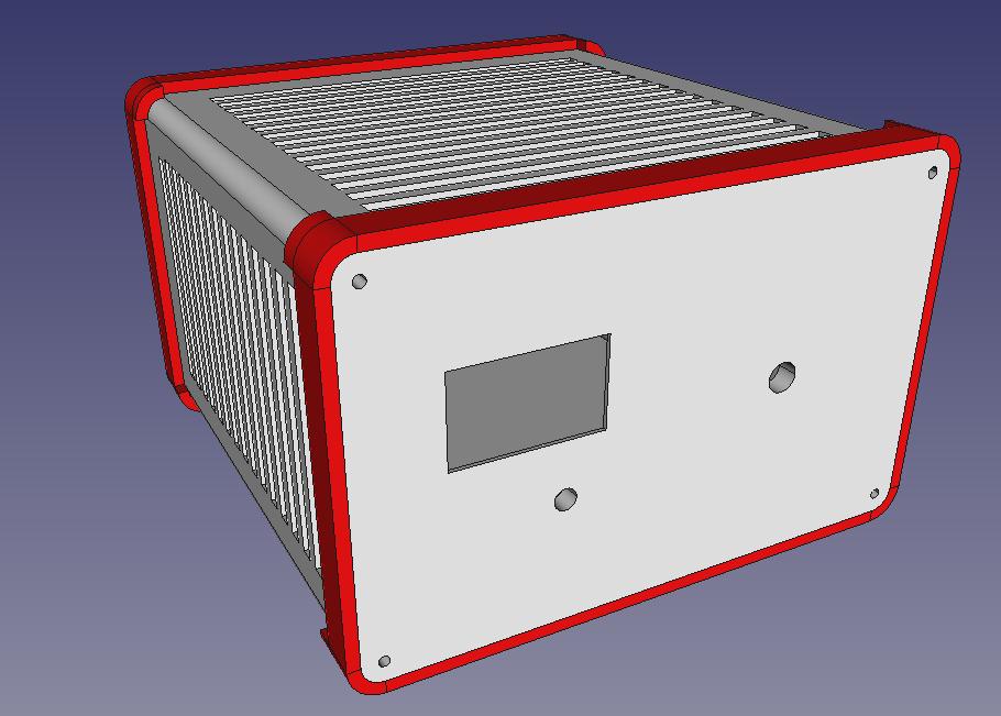 Caja controlador horno SMD