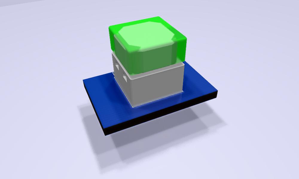 B3W-900x-xx1x-3D Modelo 3D verde