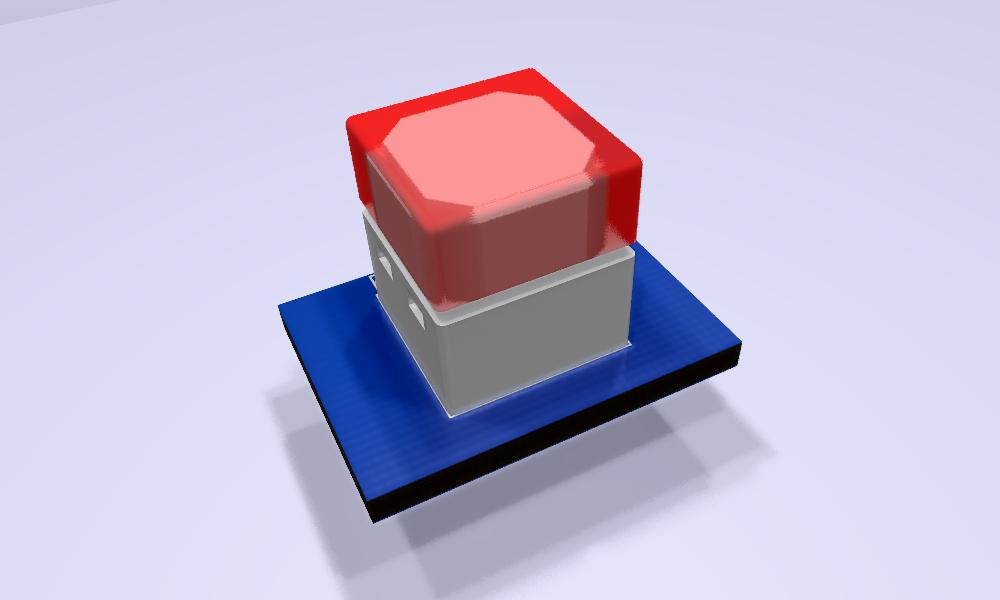 B3W-900x-xx1x-3D Modelo 3D rojo