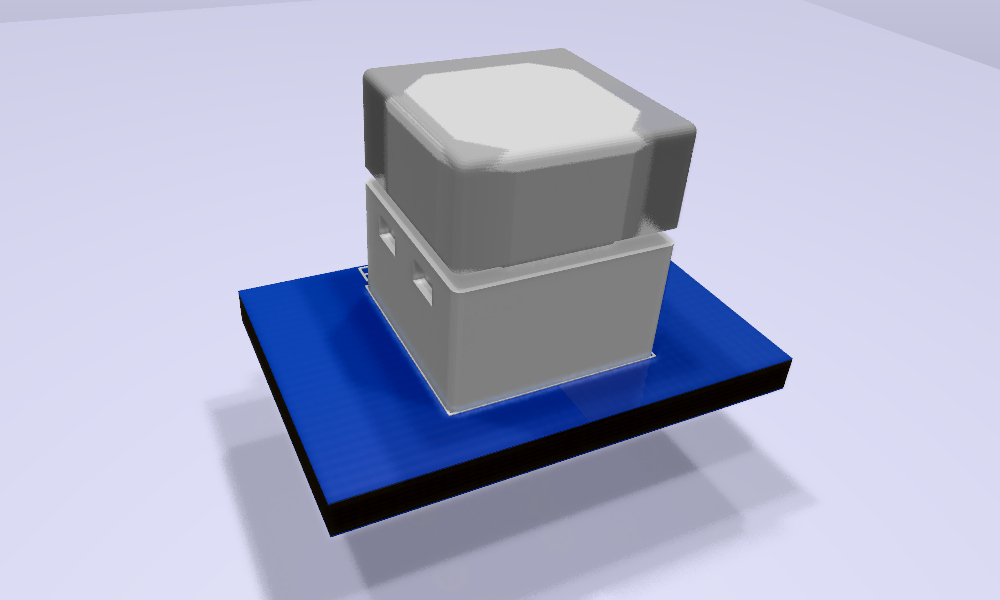 B3W-900x-xx1x-3D Modelo 3D transparente