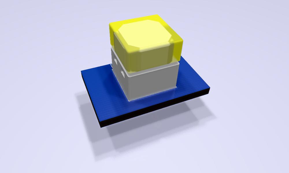 B3W-900x-xx1x-3D Modelo 3D amarillo