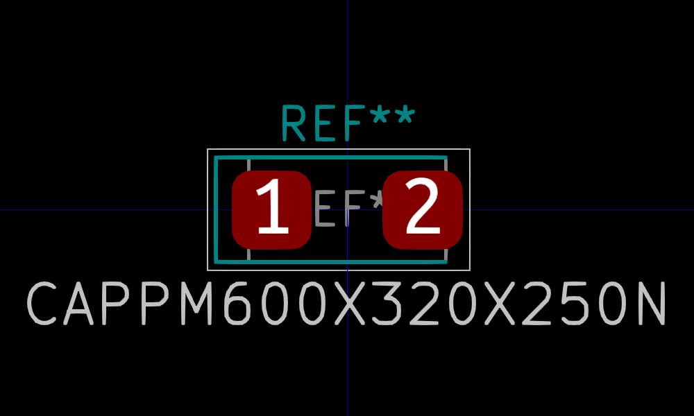 T491C226K016AT huella para Pcbnew.
